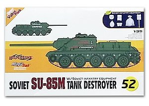 Su-85M Tank Destroyer w/Soviet Infantry   (Vista 1)