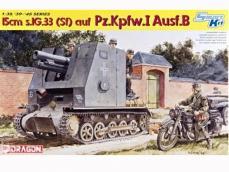 Panzerkampfwagen I Ausf. B, 15 cm sIG 33 - Ref.: DRAG-6259