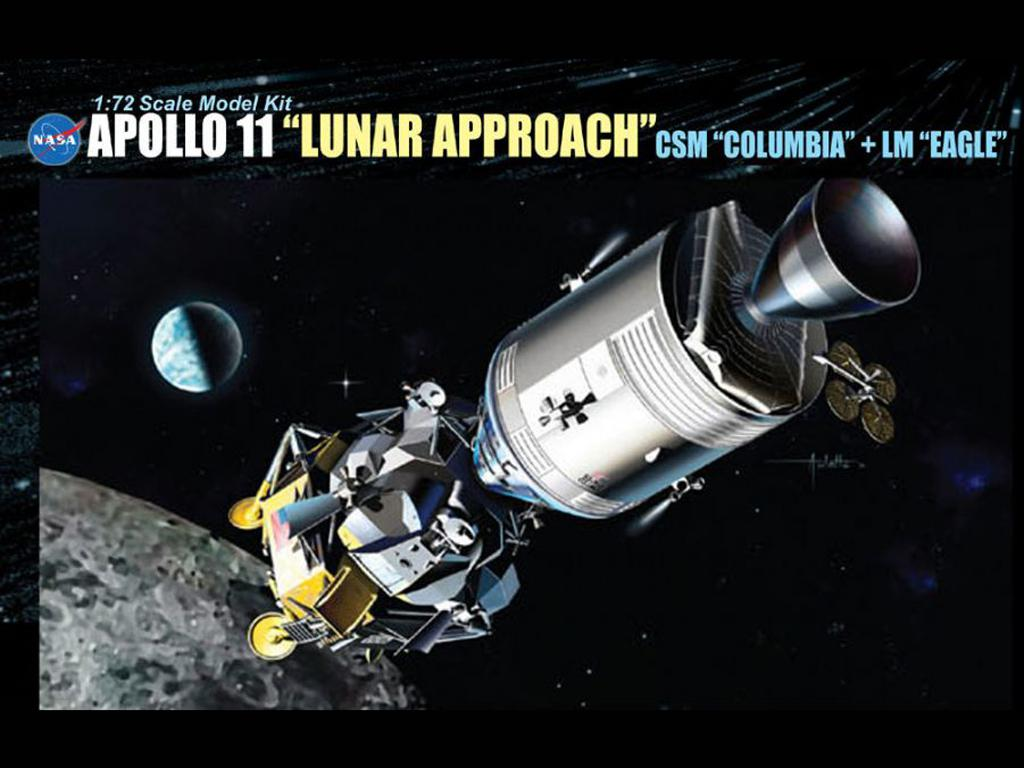 Apollo 11 (Lunar Approach) Csm Columbia  (Vista 1)