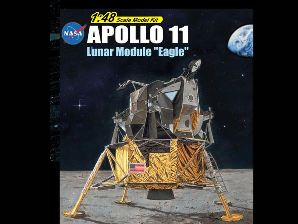 Apollo 11 Lunar Module Eagle (Vista 1)