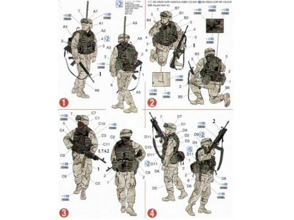 Marines US modernos (Vista 2)