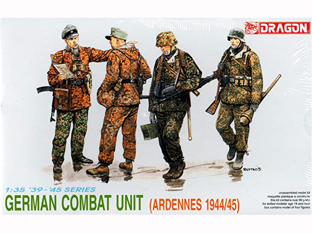 Waffen SS, Ardennes 1944/45  (Vista 1)