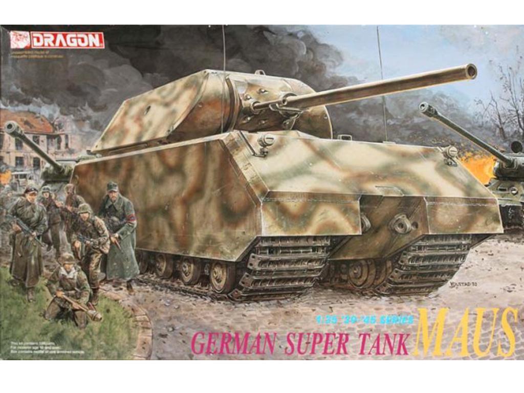 German Super Tank Maus (Vista 1)