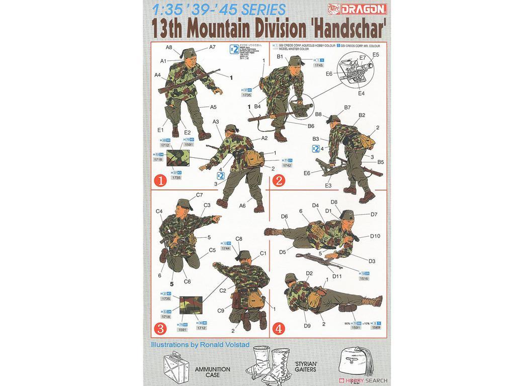 13ª División de Montaña Handschar (Vista 2)