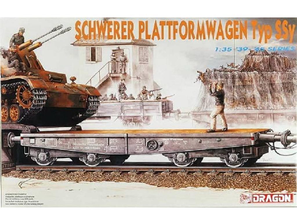 Plataforma Ferroviaria Tipo SSY (Vista 1)