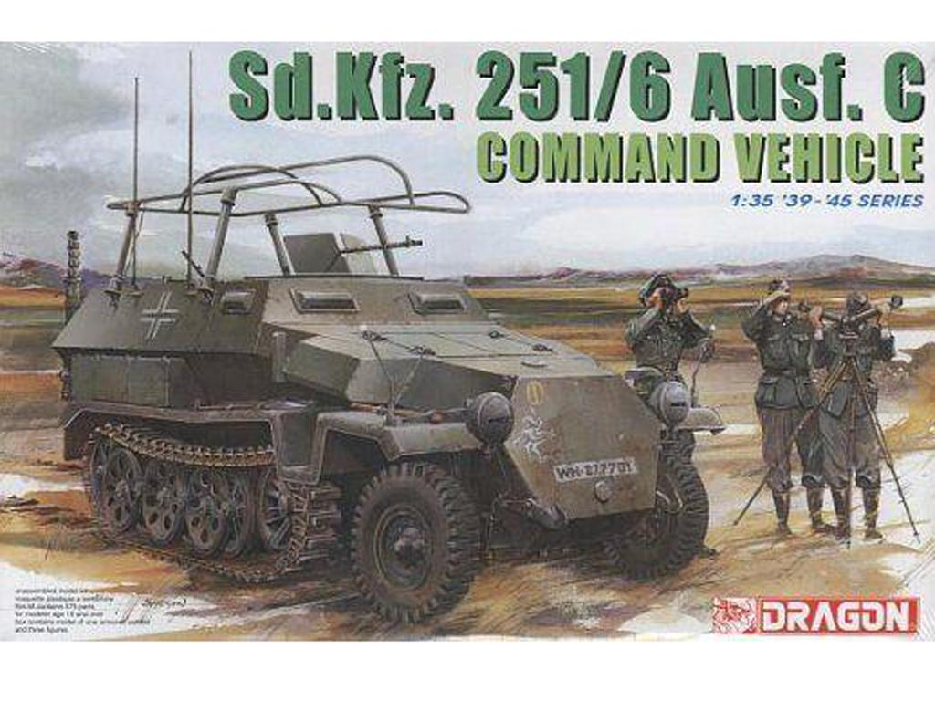 Sd. Kfz. 251/6C Command (Vista 1)