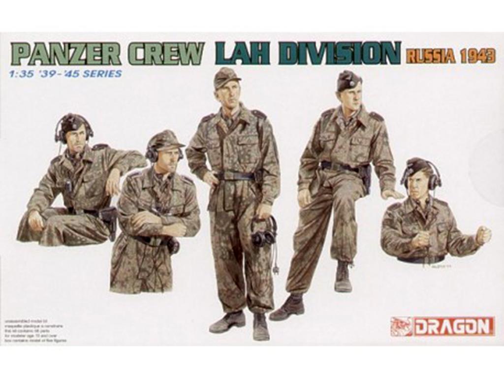 Carristas alemanes División LAH (Vista 1)