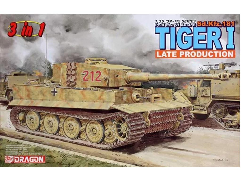 Sd.Kfz. 181 Tiger I Late Production (Vista 1)