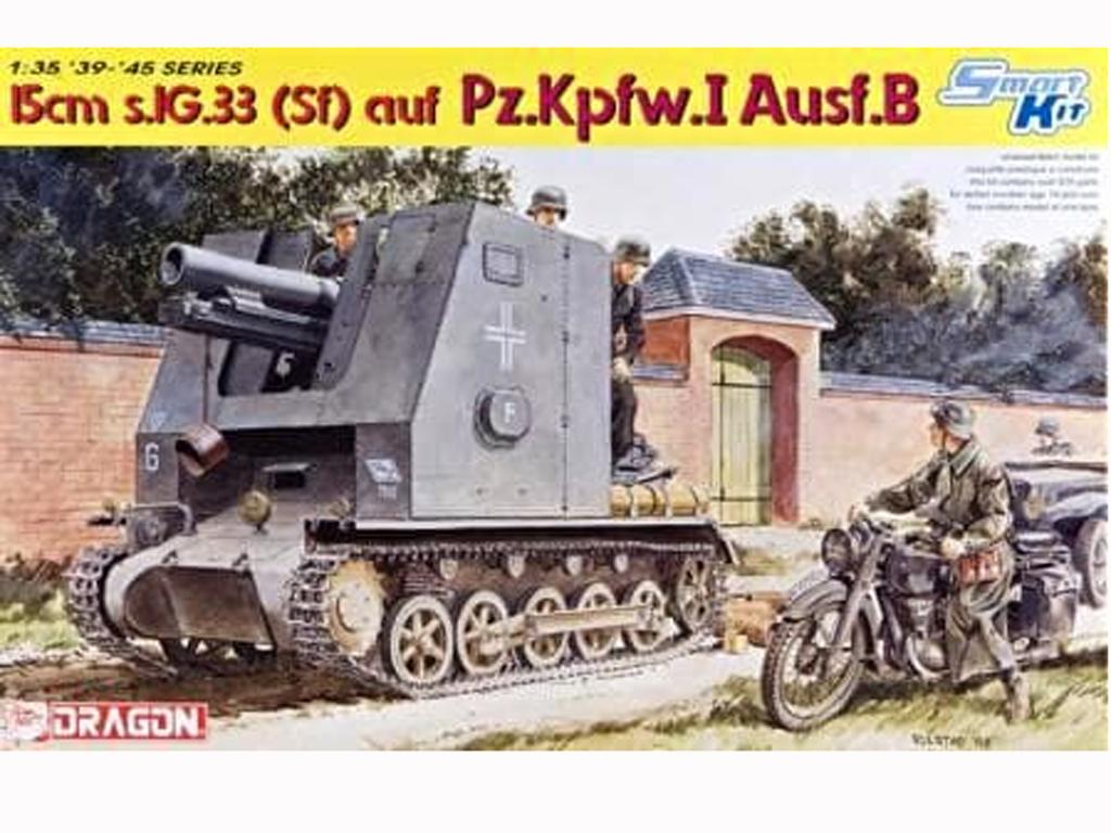 Panzerkampfwagen I Ausf. B, 15 cm sIG 33 (Vista 1)