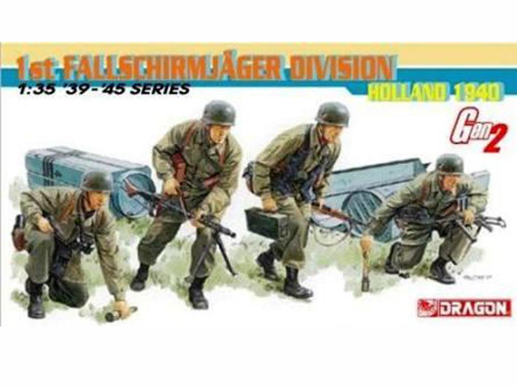 1st Fallschirmjager Division, Holland 19 (Vista 1)