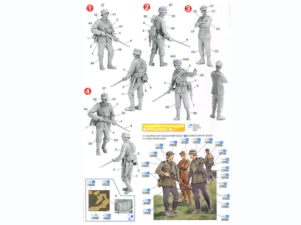 Infanteria Alemana ,Polonia 1939 (Vista 2)