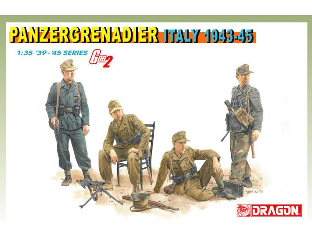 Panzergrenadier Italy 1943-45 (Vista 1)