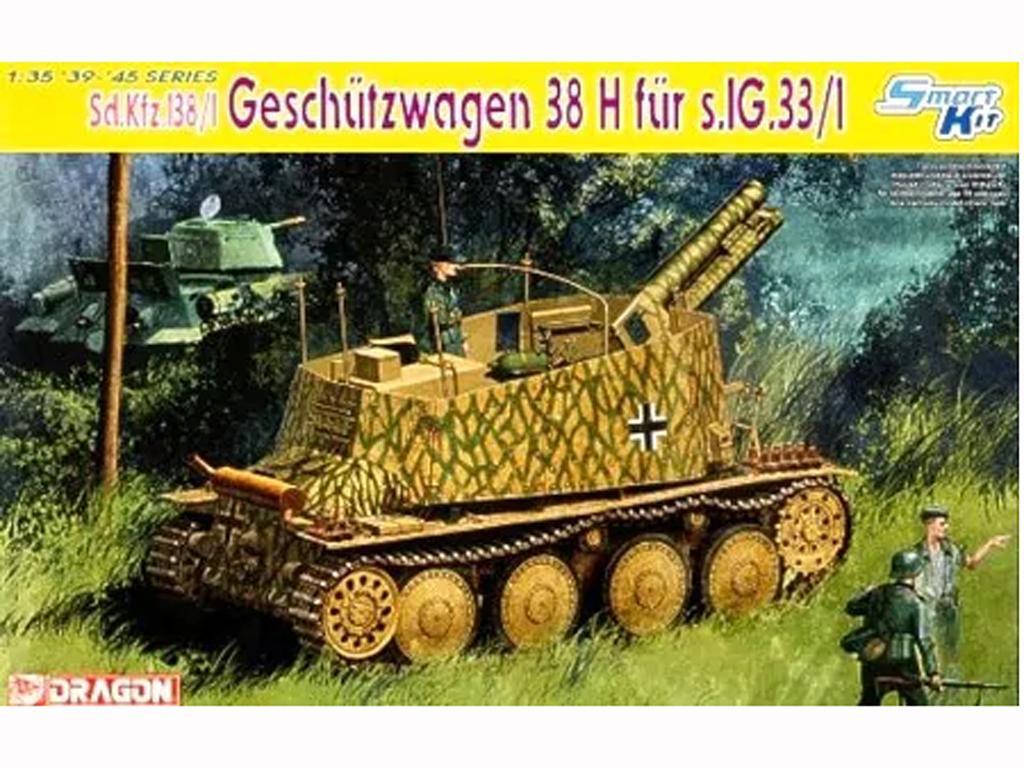 Sd.Kfz.138/1 Geschutzwagen 38H fur s.IG. (Vista 1)