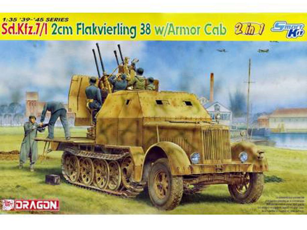 Sd.Kfz.7/1 2cm Flakvierling 38 w/Armor C (Vista 1)