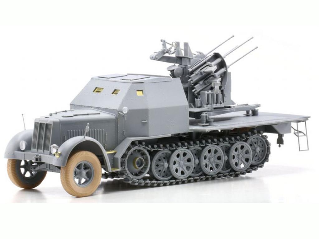 Sd.Kfz.7/1 2cm Flakvierling 38 w/Armor C (Vista 3)