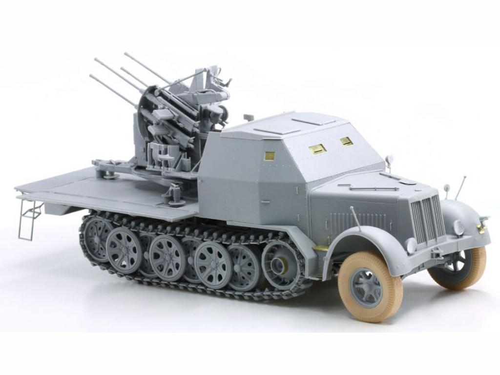 Sd.Kfz.7/1 2cm Flakvierling 38 w/Armor C (Vista 4)