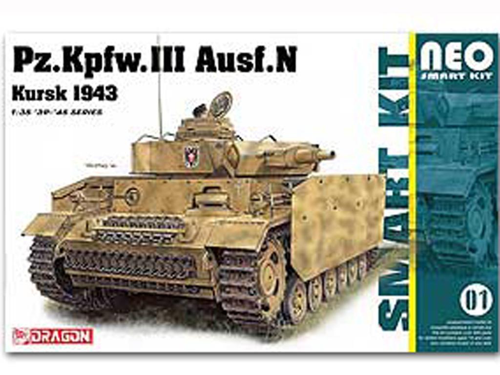 Pz.Kpfw.III Ausf.N Kursk 1943 w/interior (Vista 1)