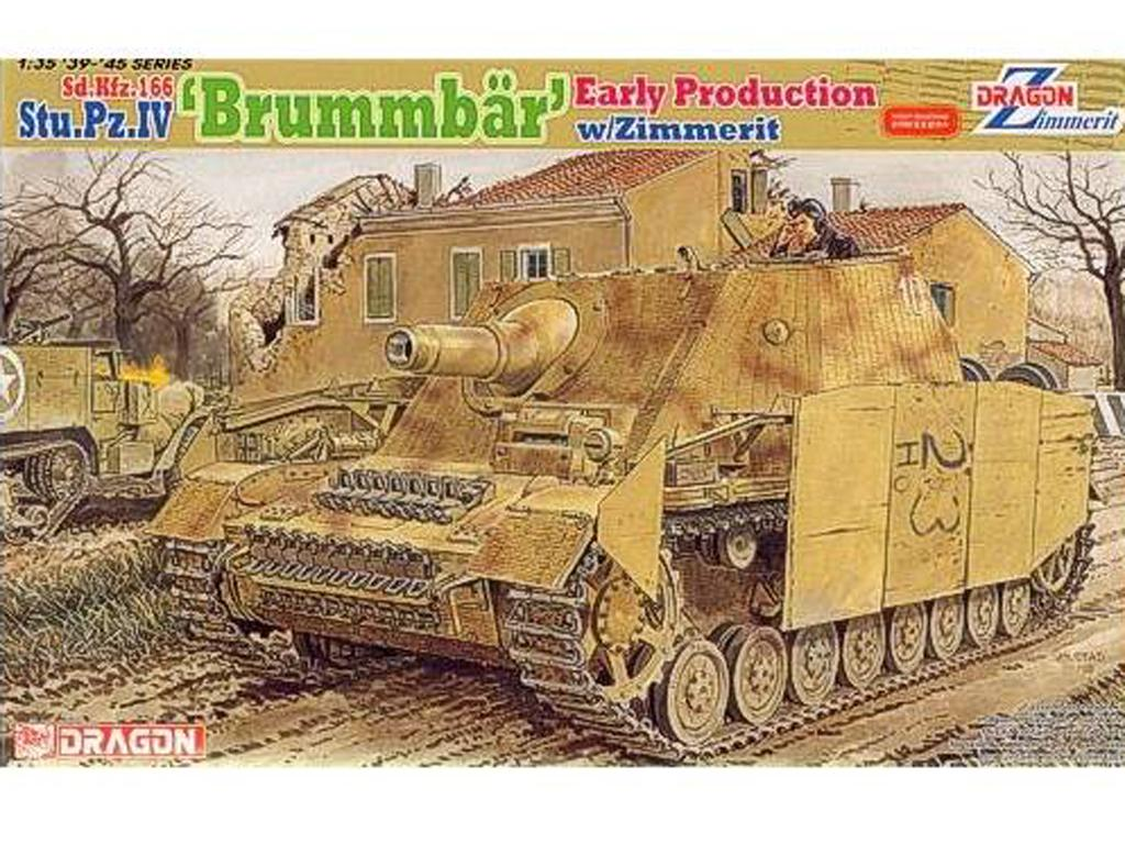 Strumpanzer IV Brummbar Sd.Kfz.166 Early (Vista 1)