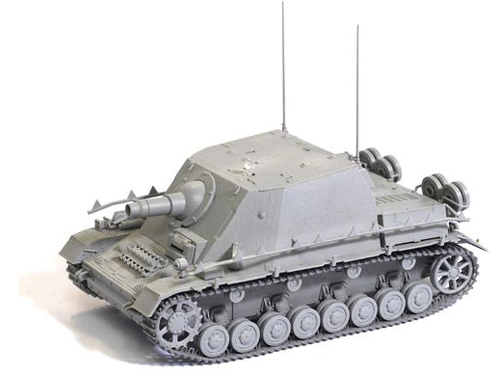 Strumpanzer IV Brummbar Sd.Kfz.166 Early (Vista 3)