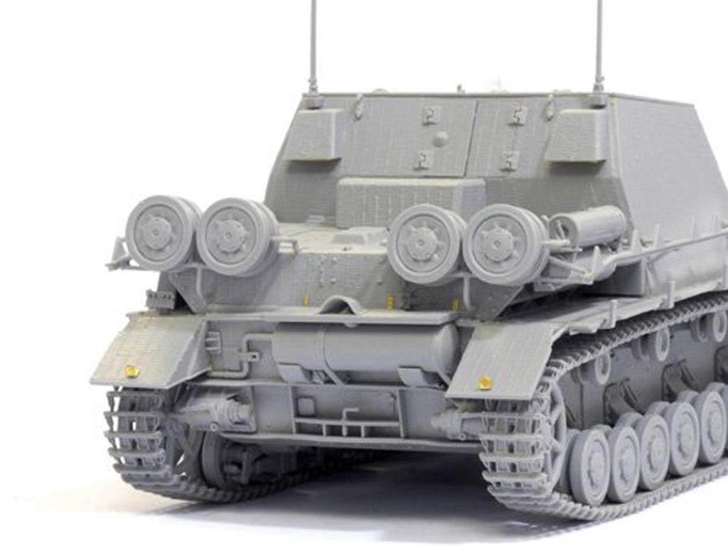 Strumpanzer IV Brummbar Sd.Kfz.166 Early (Vista 4)