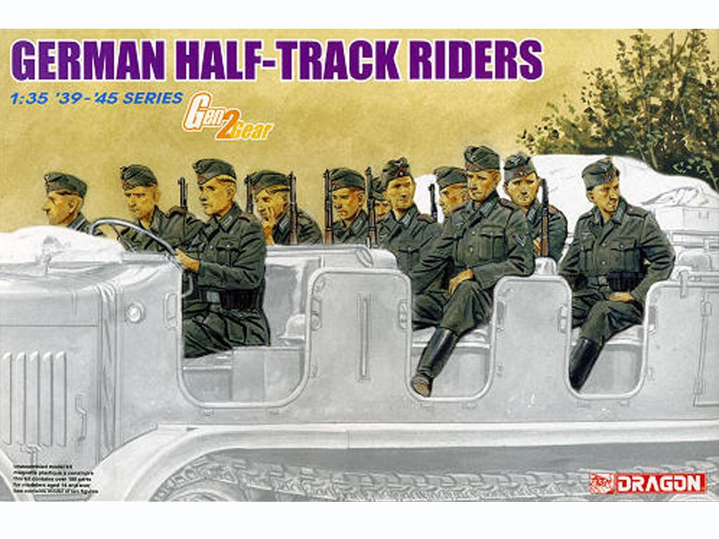 Dotacion Alemana Half-Track (Vista 1)