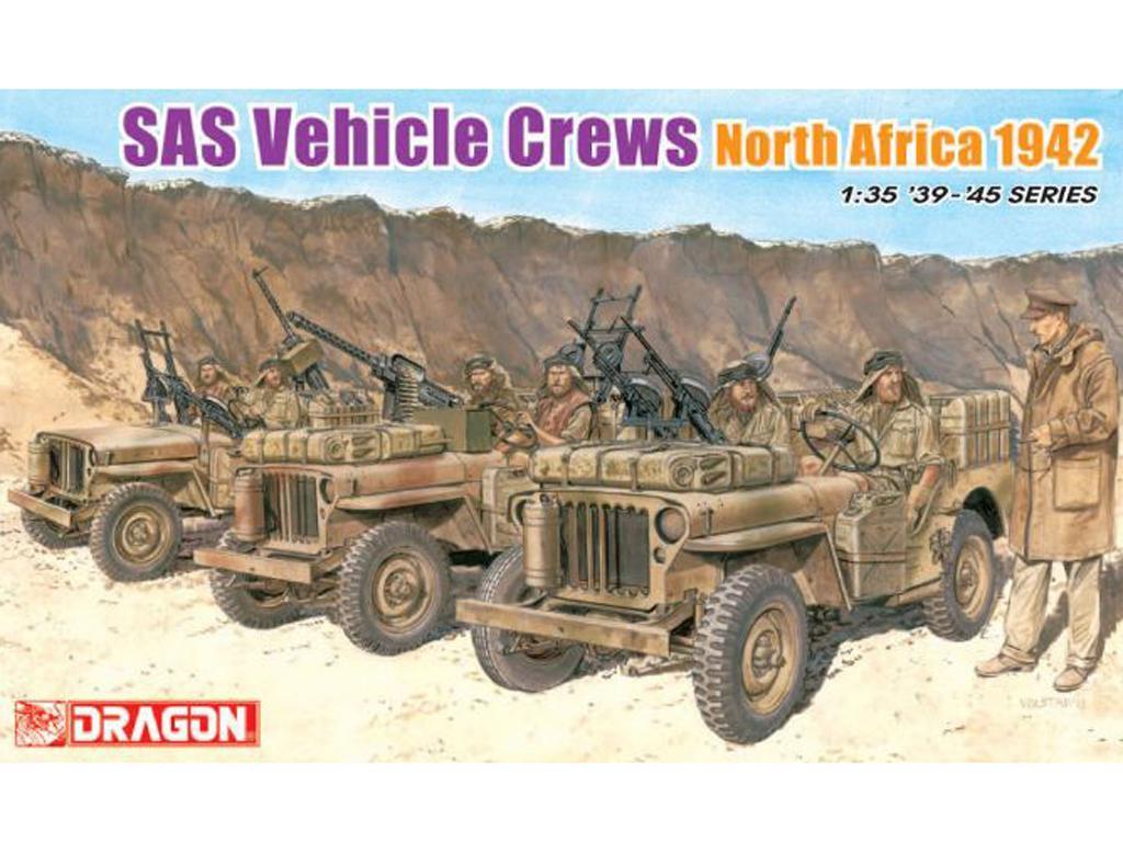 Dotación para Jeep SAS Africa 1942 (Vista 1)