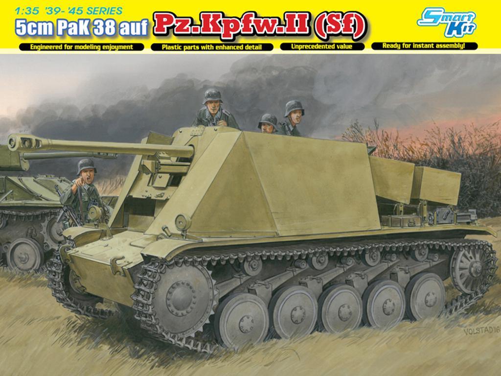 5cm PaK 38 (L/60) auf Fgst.Pz.Kpfw.II Sf (Vista 1)