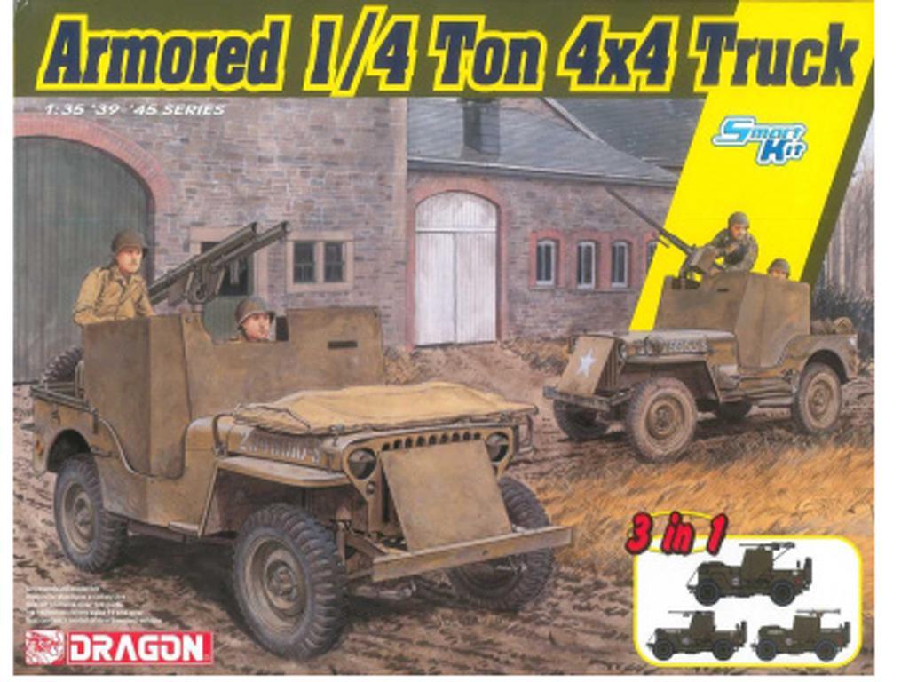 Armored 1/4-Ton 4x4 Truck w/.50-cal Machine Gun (Vista 1)