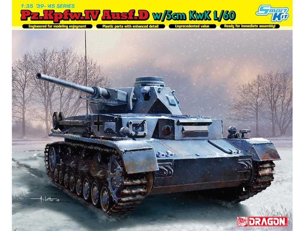 Pz.Kpfw.IV Ausf.D w/5cm L/60 (Vista 1)