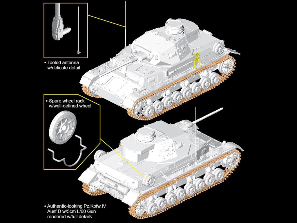 Pz.Kpfw.IV Ausf.D w/5cm L/60 (Vista 3)