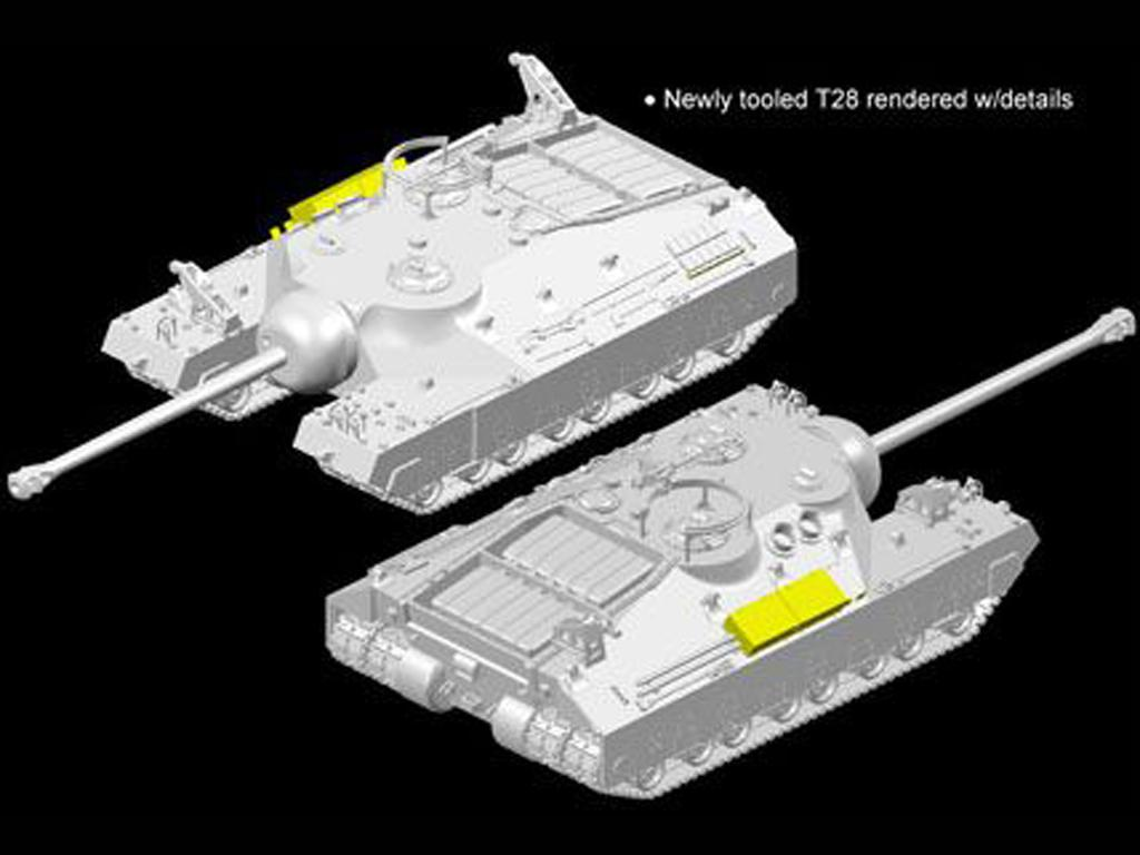 T28 Super Heavy Tank (Vista 3)