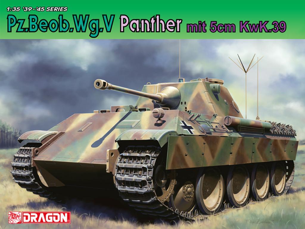 Pz.Beob.Wg.V Panther mit 5cm Kw.K.39/1 (Vista 1)