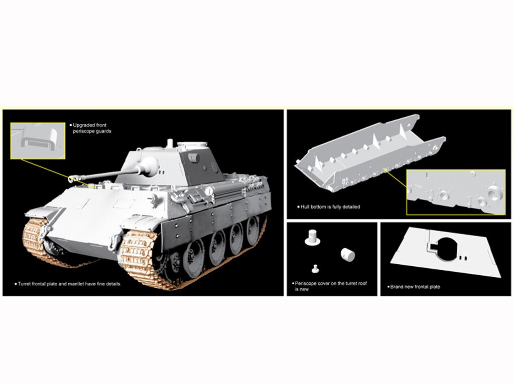 Pz.Beob.Wg.V Panther mit 5cm Kw.K.39/1 (Vista 3)