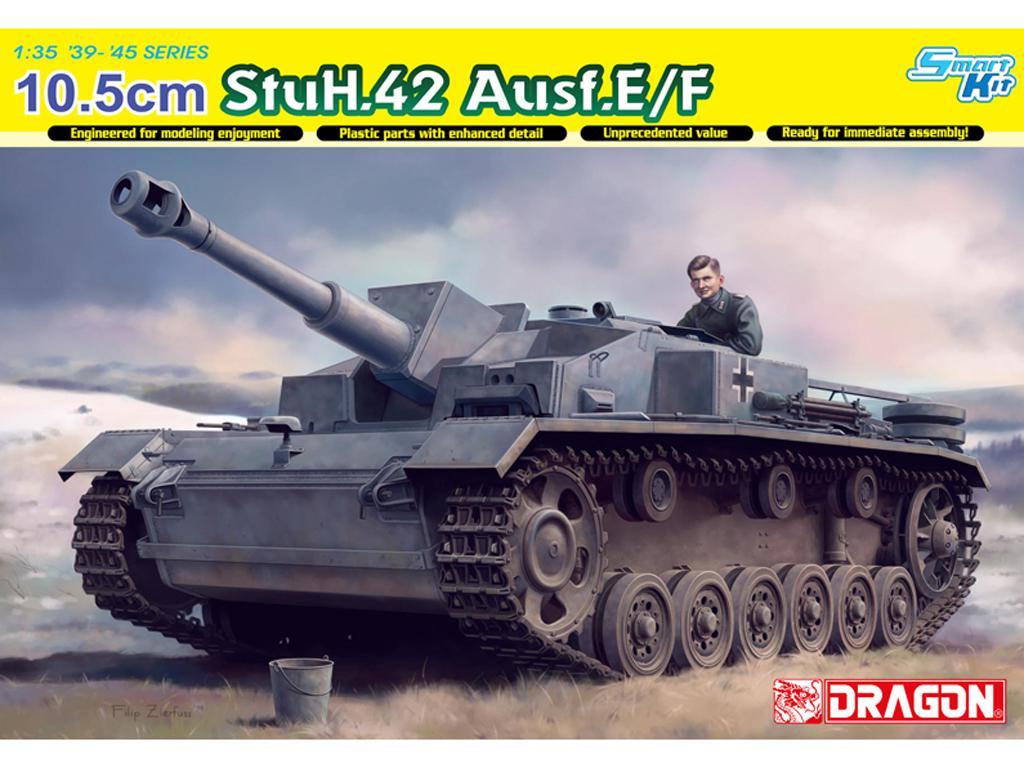 10.5cm stuH42 Ausf.E/F (Vista 1)
