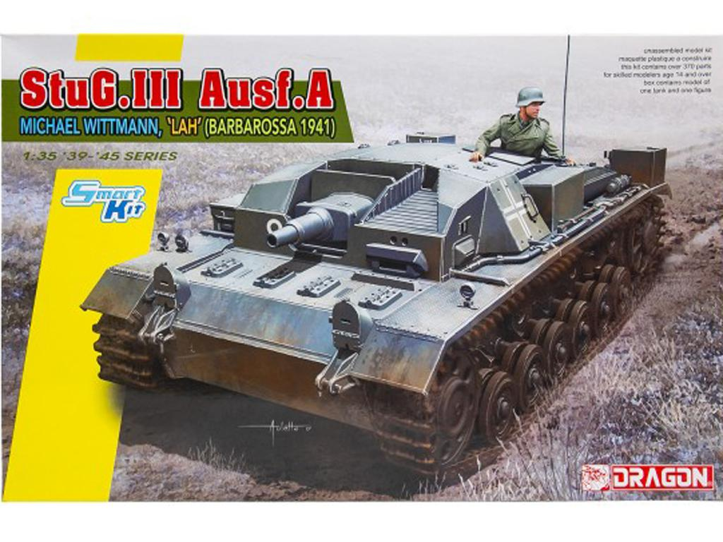StuG. III Ausf. - A Michael Wittmann, LA (Vista 1)