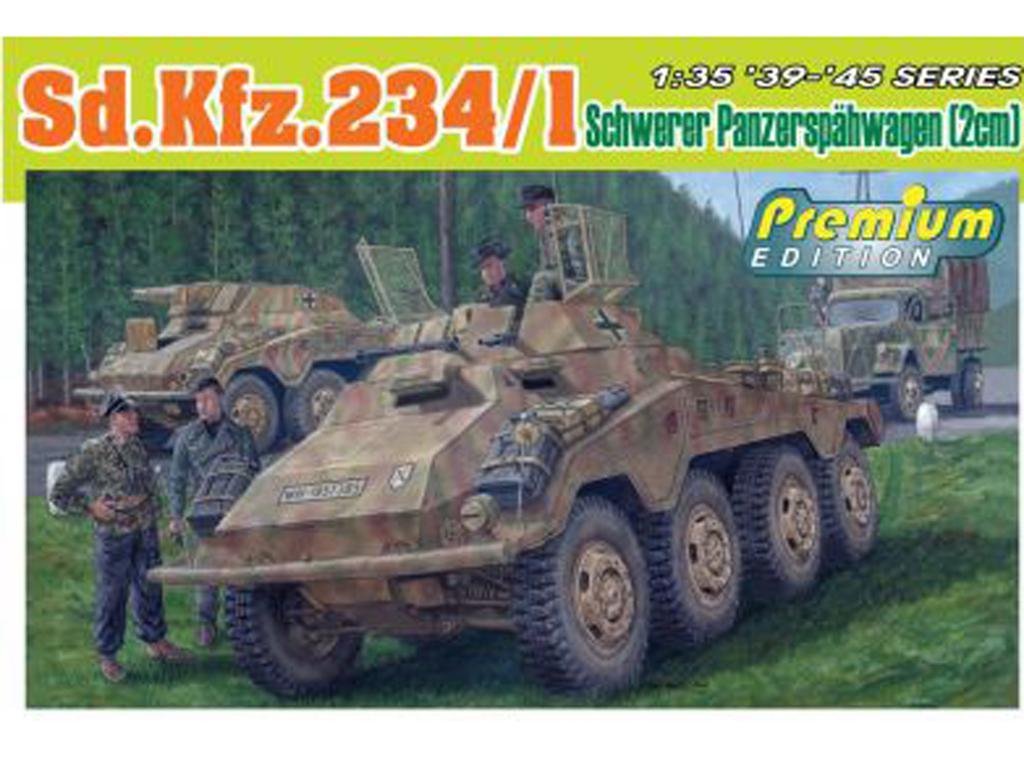 Sd.Kfz.234/1 schwerer Panzerspahwagen (Vista 1)