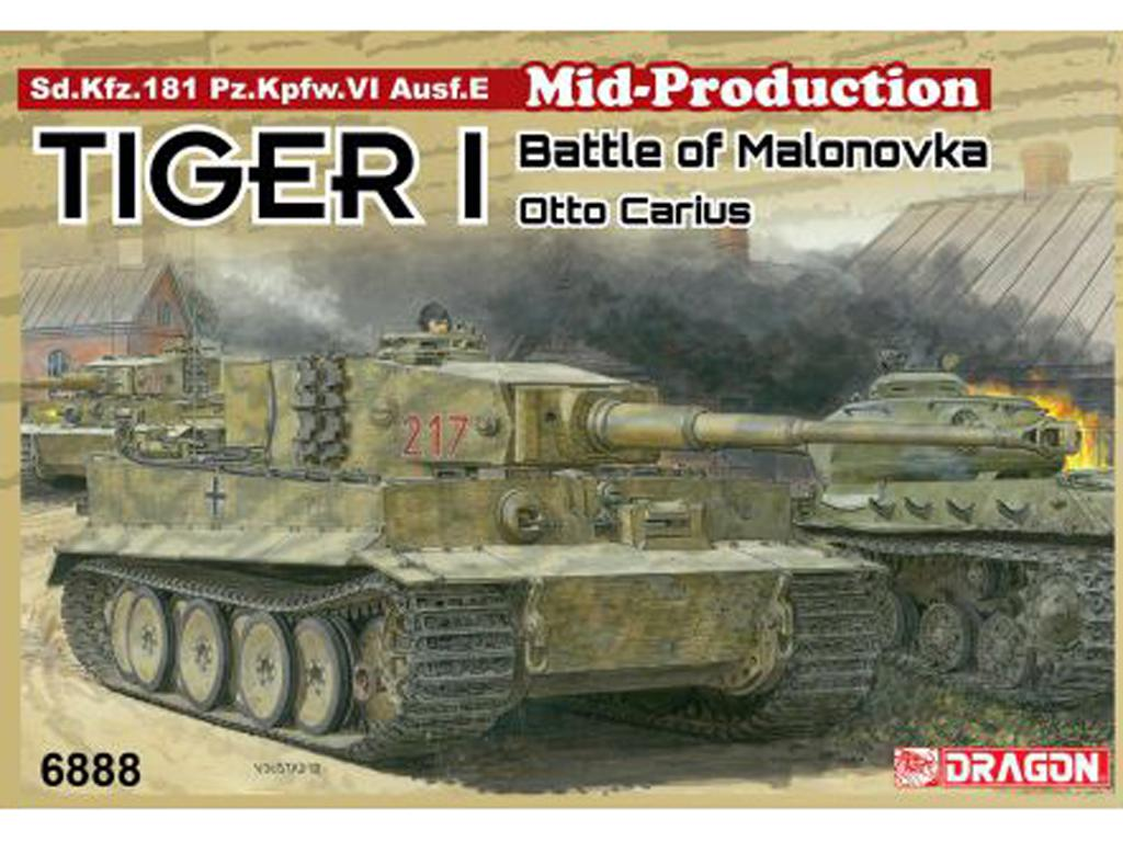 Tiger I Mid-Production w/Zimmerit Otto Carius (Vista 1)
