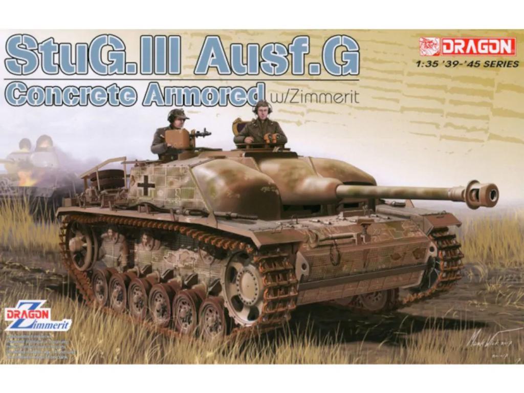 StuG.III Ausf.G Concrete Armored w/Zimme (Vista 1)