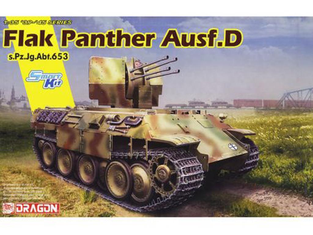 Flak Panther Ausf.D s.Pz.Jg.Abt.653 (Vista 1)