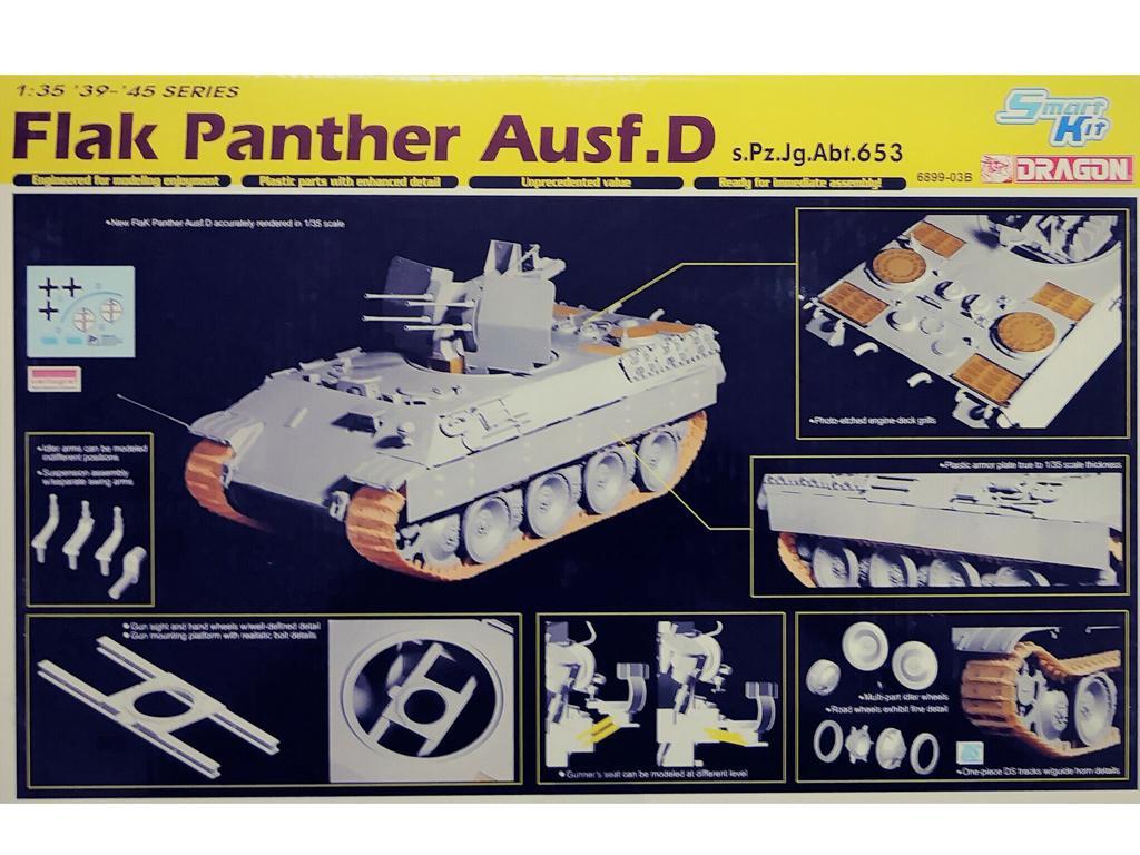 Flak Panther Ausf.D s.Pz.Jg.Abt.653 (Vista 2)