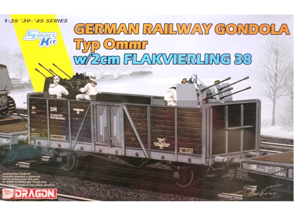 German Railway Gondola Typ Ommr w/2cm Fl (Vista 1)