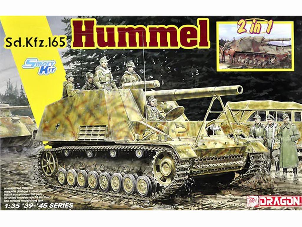 Sd.Kfz.165 Hummel versión inicial o final (Vista 1)