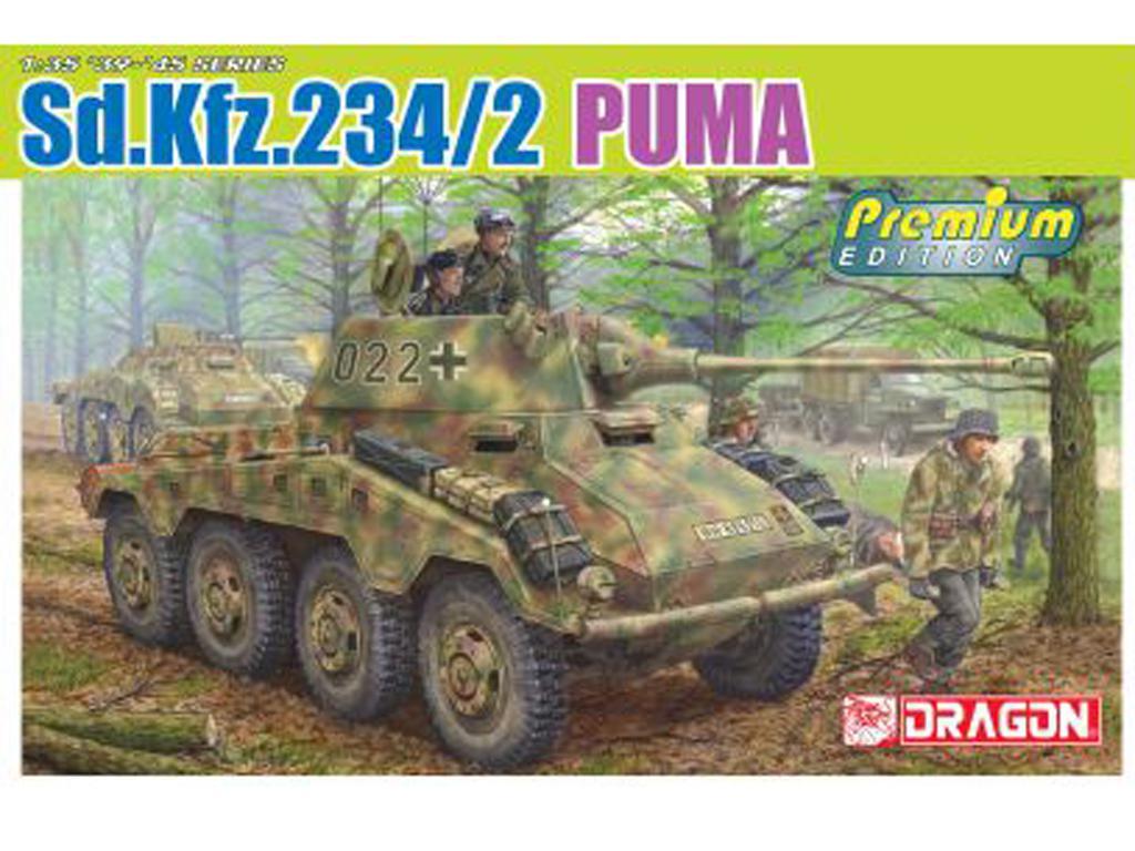 Sd.Kfz.234/2 Puma (Vista 1)