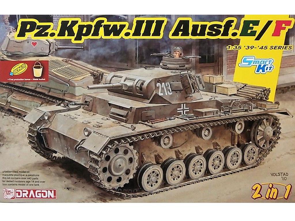 Pz.Kpfw.III Ausf.E/F (Vista 1)