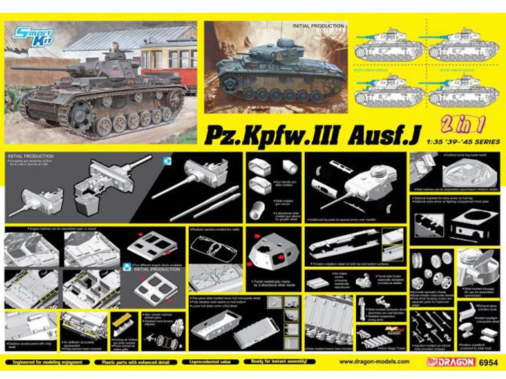 Panzer III Ausf.J inicial (Vista 2)