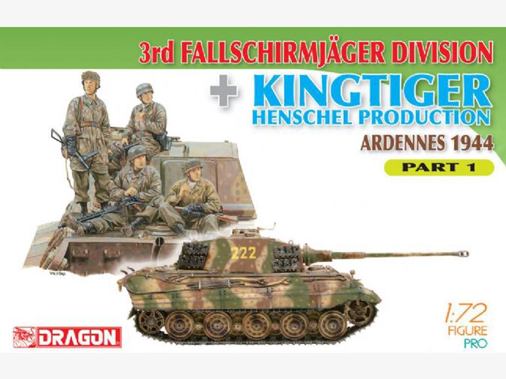 Fallschirmjager Division + Kingtiger (Vista 1)