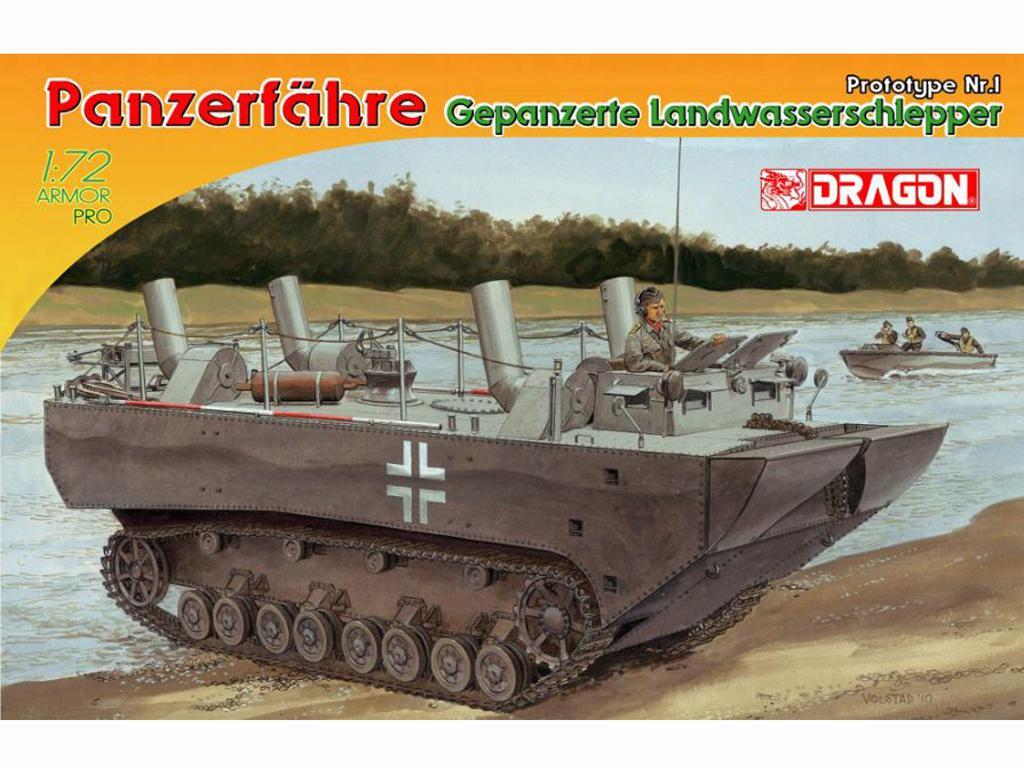 Panzerfähre Gepanzerte Landwasserschlepp (Vista 1)