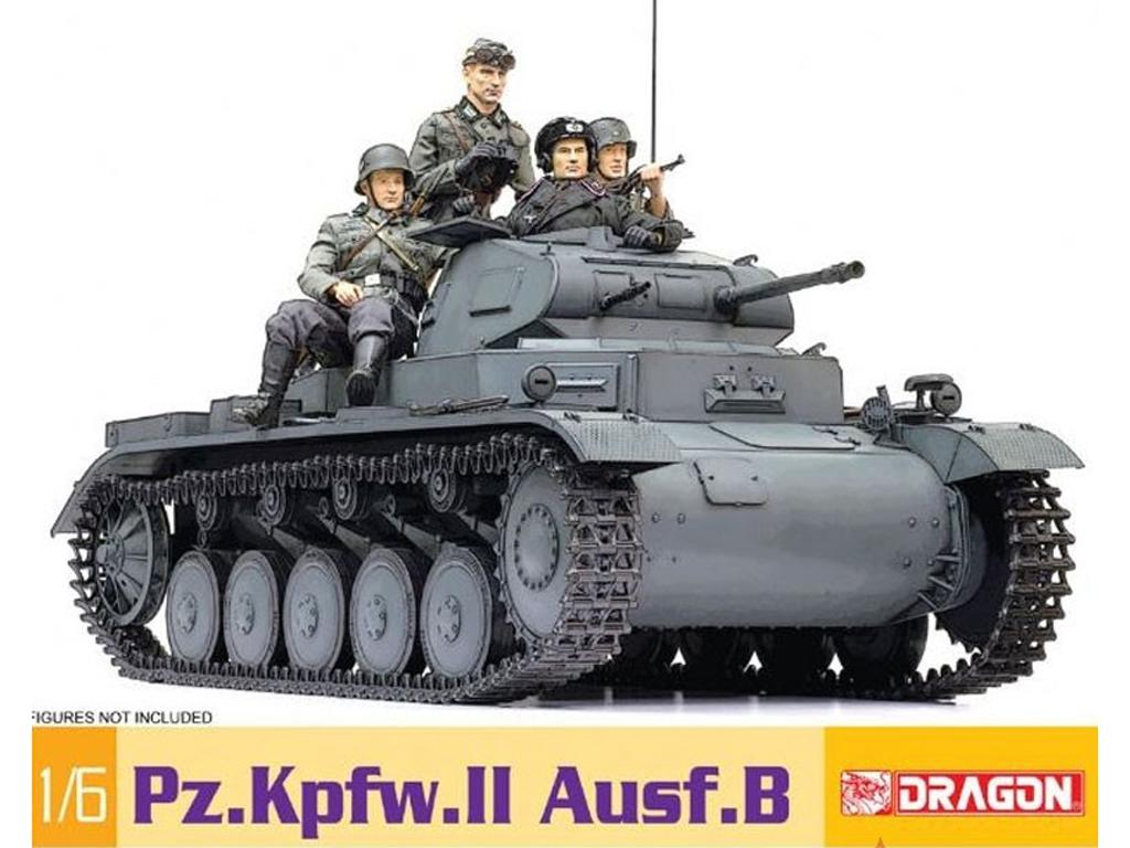 Panzer II Ausf. B (Vista 1)