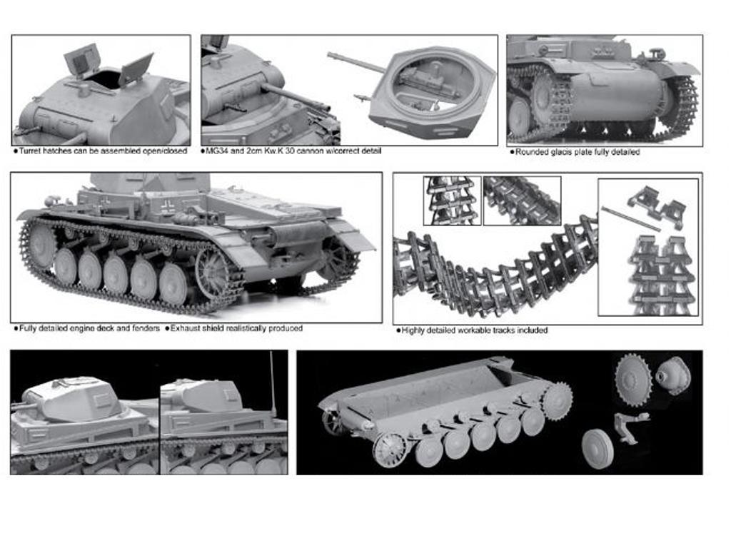 Panzer II Ausf. B (Vista 2)