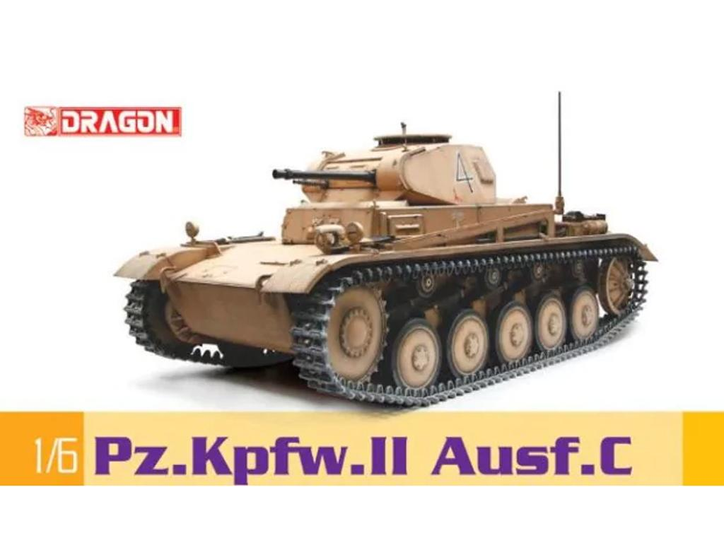 Panzer II Ausf C (Vista 1)